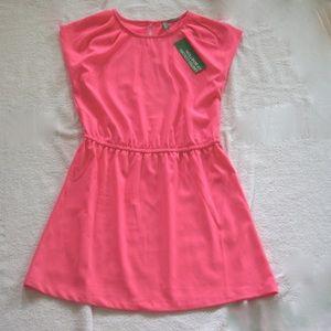Benetton Neon Pink Dress