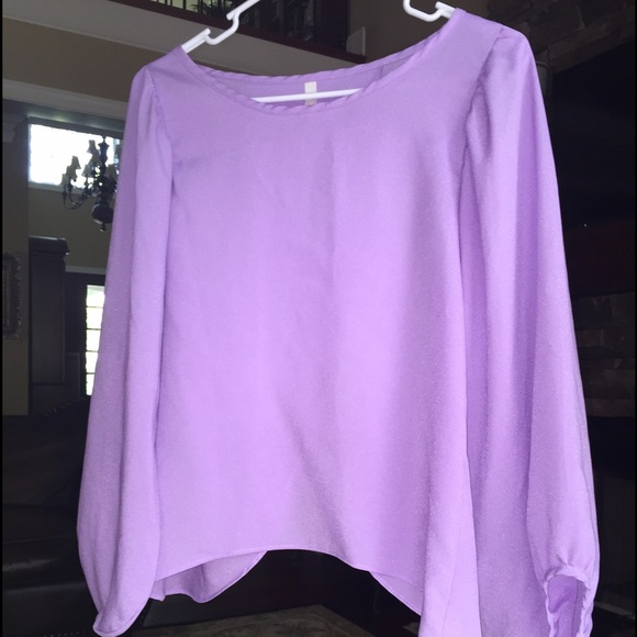 Cocolove Tops Beautiful Lavender Blouse From Local Boutique Poshmark