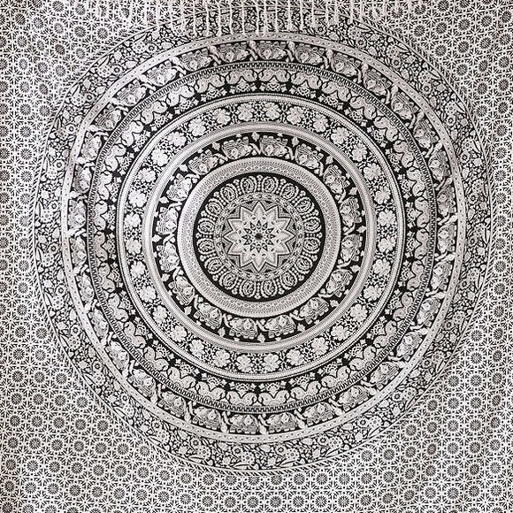 Tapestry Black And White
