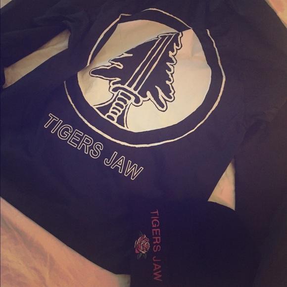 Tigers jaw hoodie