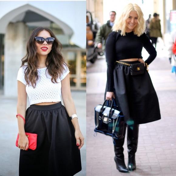 29% off Express Dresses & Skirts - [Express]high waist full midi ...