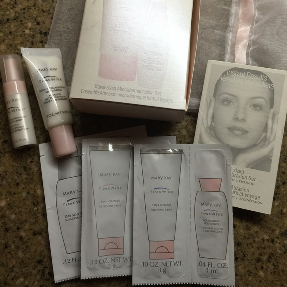 Michael Mccracken Offers Age Fighting Eye And Facial: Mary Kay Microdermabrasion Set From Susan's