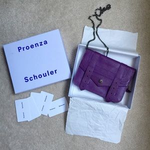 Proenza schouler PS1 chain wallet ~ Purple