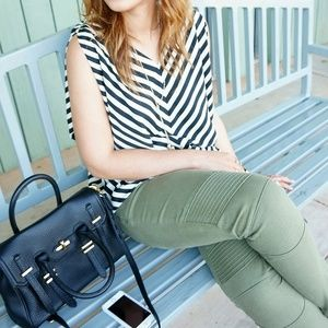Tops - Stripped chevron Top