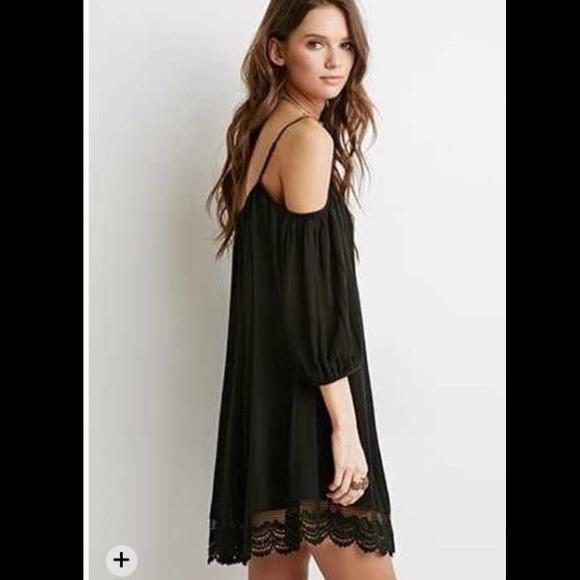 Open Shoulder Dress Forever 21 Forever 21 Dresses Skirts