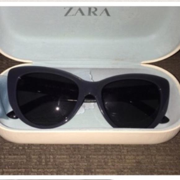 4fd0a097be ZARA Cat Eye Sunglasses Grey with Black