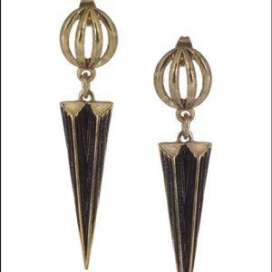 Lulu Frost Jewelry - 🎉4/24HP🎉Lulu Frost Blackened Gold Orbit Earrings