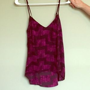 Urban Outfitters purple tank