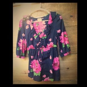 Juicy couture floral top!
