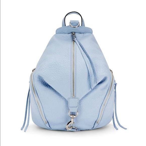 648d1daa2 Rebecca Minkoff Julian Backpack- soft blue. M_55b6ae3bcadd6a528c013289