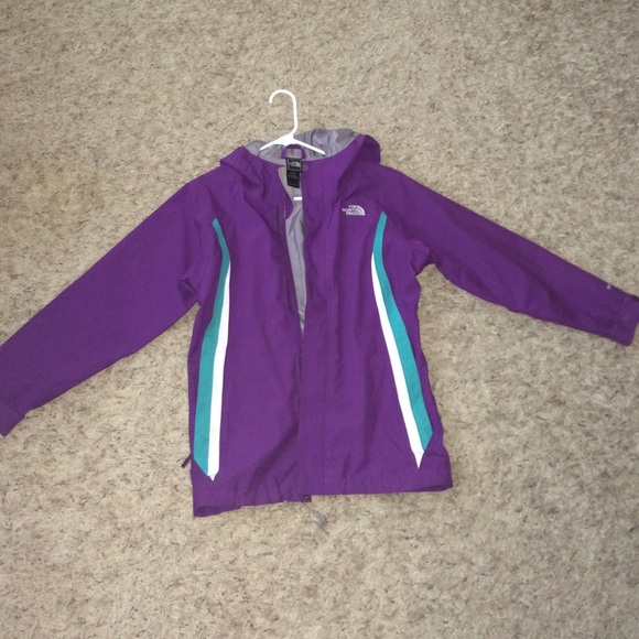 adult face jacket north small