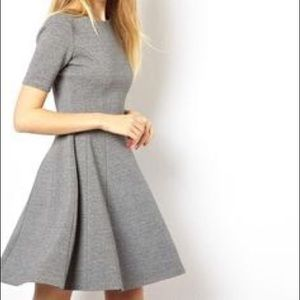 HP👗 Zara Gray Skater Dress