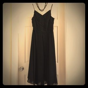 Romantic and Flowing Black Dress