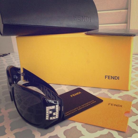 aef013e414da Fendi Swarovski Crystal Sunglasses