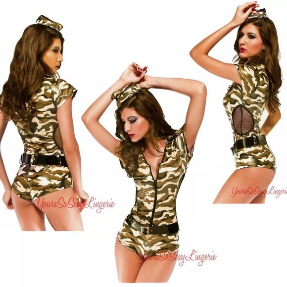 Something is. sexy marine girl costume state