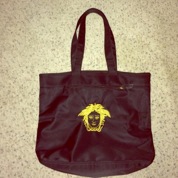 957316bc30 Authentic Gianni Versace Tote Handbag. M_55b6ca2e8fe421298a014084