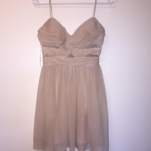 Tan Short Dresses