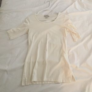 Off white half sleeve t-shirt