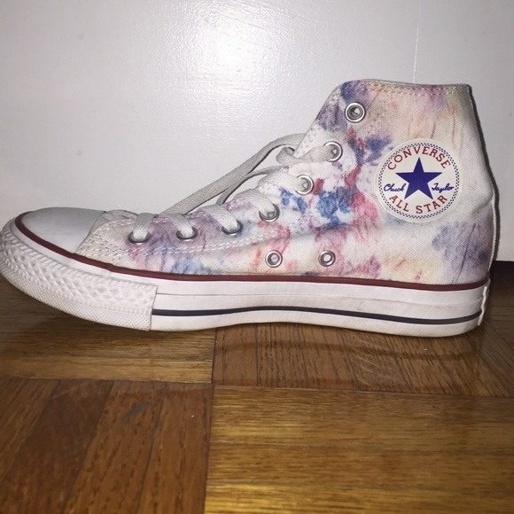 e30240cb77857 Custom watercolor converse high tops