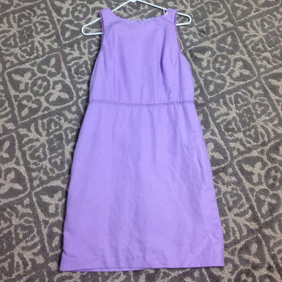 e76df904cfb LOFT Dresses   Skirts - Lavender linen dress