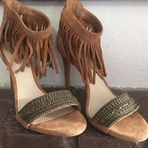 Vince Camuto Shoes - Vince Camuto fringe sandals