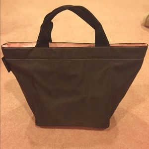 Mini pink and brown Herve Chapelier Tote
