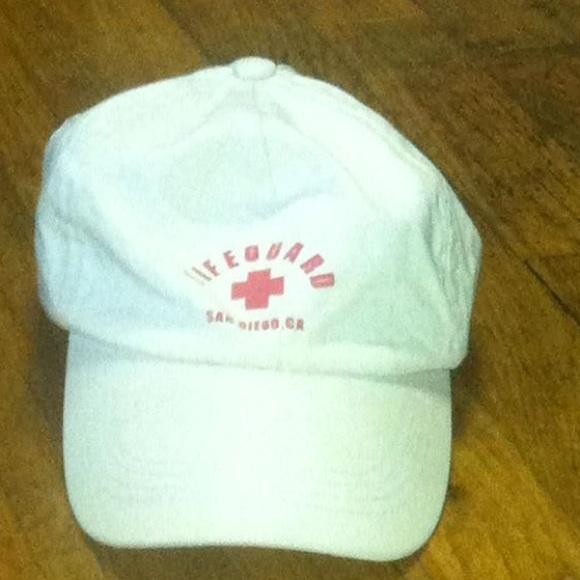d5367103951c88 Accessories   Vintage Pillow Core Lifeguard Baseball Cap   Poshmark