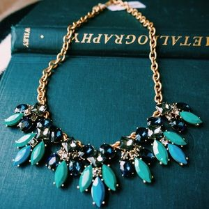 J. Crew Jewelry - J. Crew Factory Stone Drop Necklace in Bright Jade