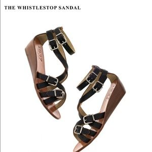 Madewell Whistlestop wedge sandal with straps