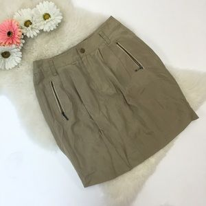 Banana Republic safari skirt
