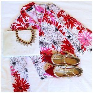 Jackets & Blazers - Bright floral blazer