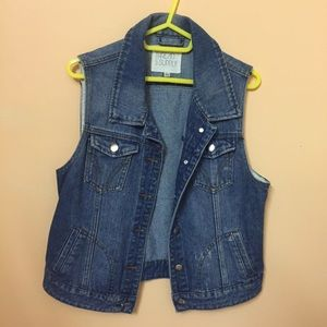 Thread & Supply Denim Vest