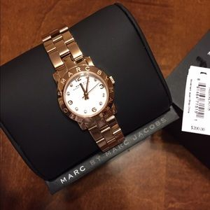 Marc by Marc Jacobs Mini Rose Gold Watch