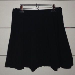 Black F21 Skater Skirt