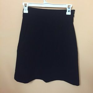 Black over the knee skirt