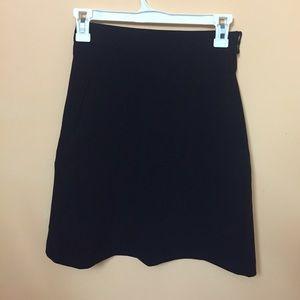 Black over the knee skirt