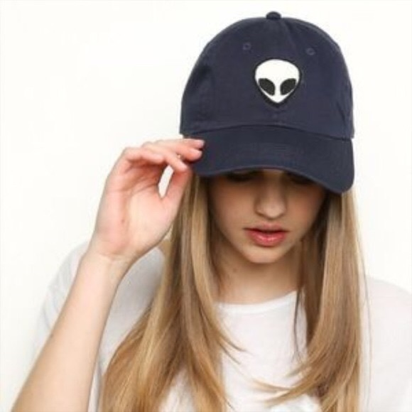 brandy accessories alien patch baseball cap katherine emoji