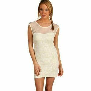 Free People Starlight Cream Dress