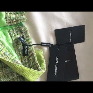 Dolce   Gabbana Skirts   Soldnwt Dolce Gabbana Snake Skin Skirt ... d98e46ecf7