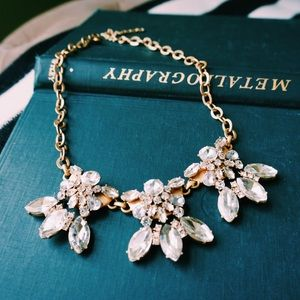 J. Crew Jewelry - J. Crew Fleur De Lis Statement Necklace