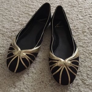Brian Atwood Shoes - Brian Atwood Art Deco Flats
