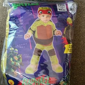 Toddler Teenage Mutant Ninja TurtleRaphael Costume