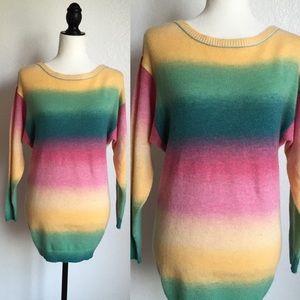 Sweaters - 🎉😊Super Soft Rainbow Sweater!