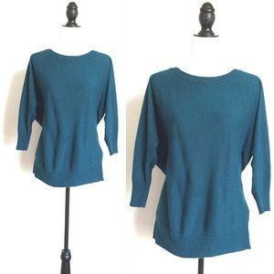 Sweaters - 🎉😊Peacock Blue Sweater!