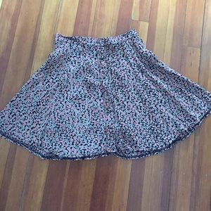 Brandy Melville floral skirt