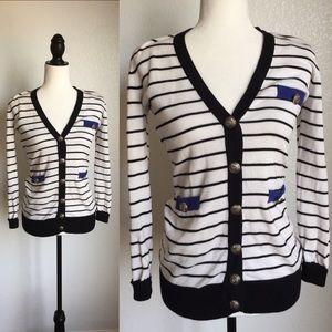 Sweaters - 🎉😊Nautical Style Cardigan!