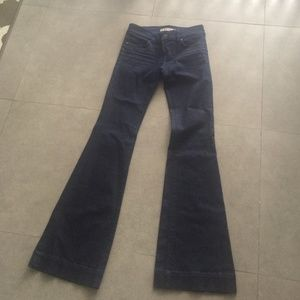 JBrand Lovestory dark flare denim