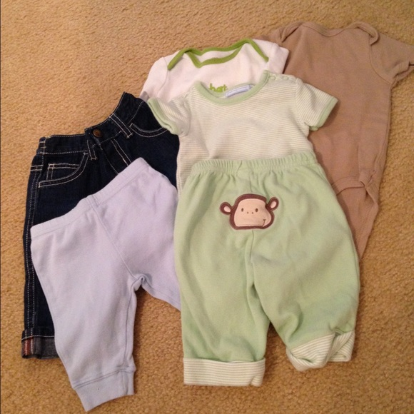 88 Off Other 14 Pc Baby Boy Clothing Bundle Size 0 3