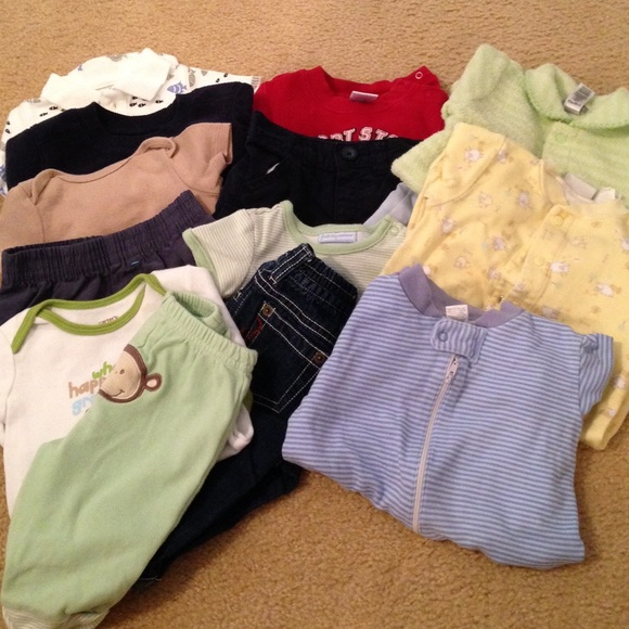 off Other 14 pc Baby boy clothing bundle size 0 3