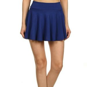 Uncommon Dresses & Skirts - Wavy pleated mini skirt with shorts